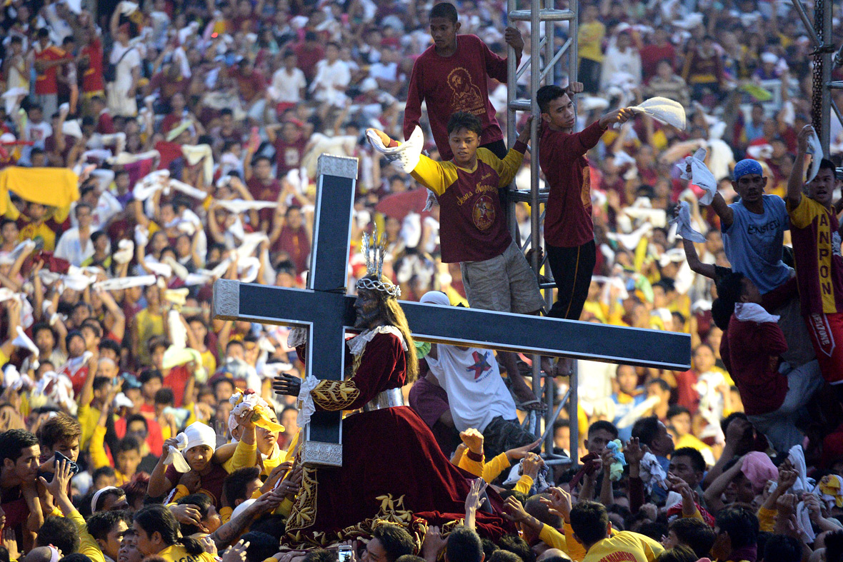 black nazarene Many sick people come to see the black nazarene, hoping that getting a chance  to pray in front of its miraculous image would heal their sicknesses others.