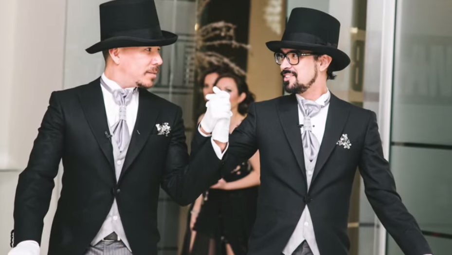 partner marrying mexican British gay