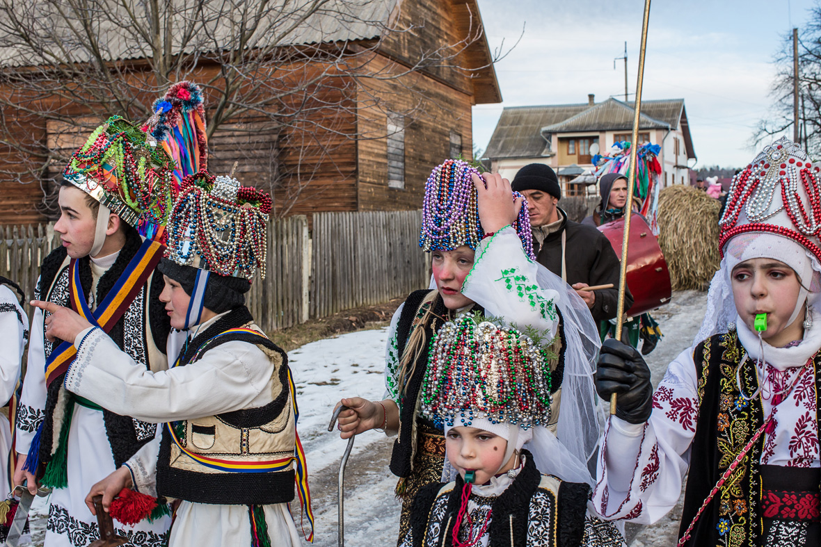 Malanka Festival: Villagers wear bizarre costumes to ...