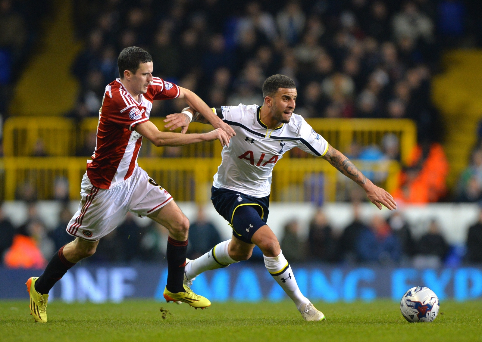 Sheffield United vs Tottenham Hotspur, Capital One Cup ...