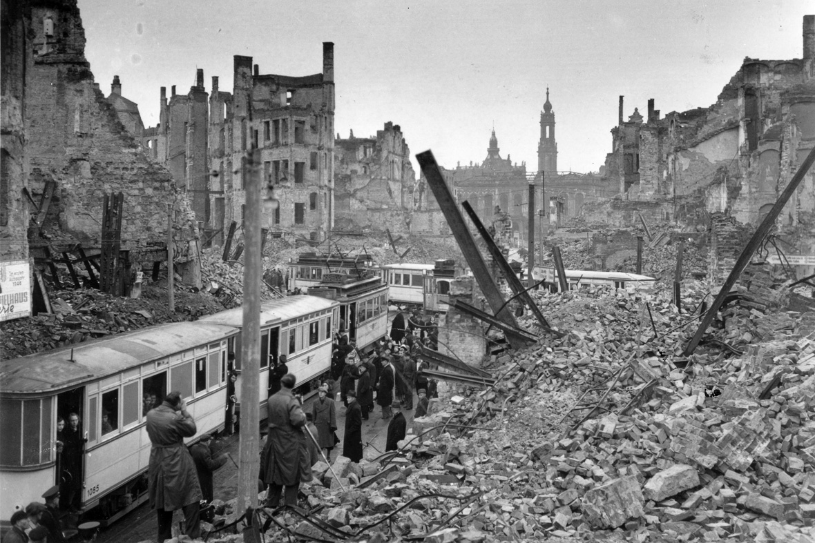 essay on the bombing of dresden