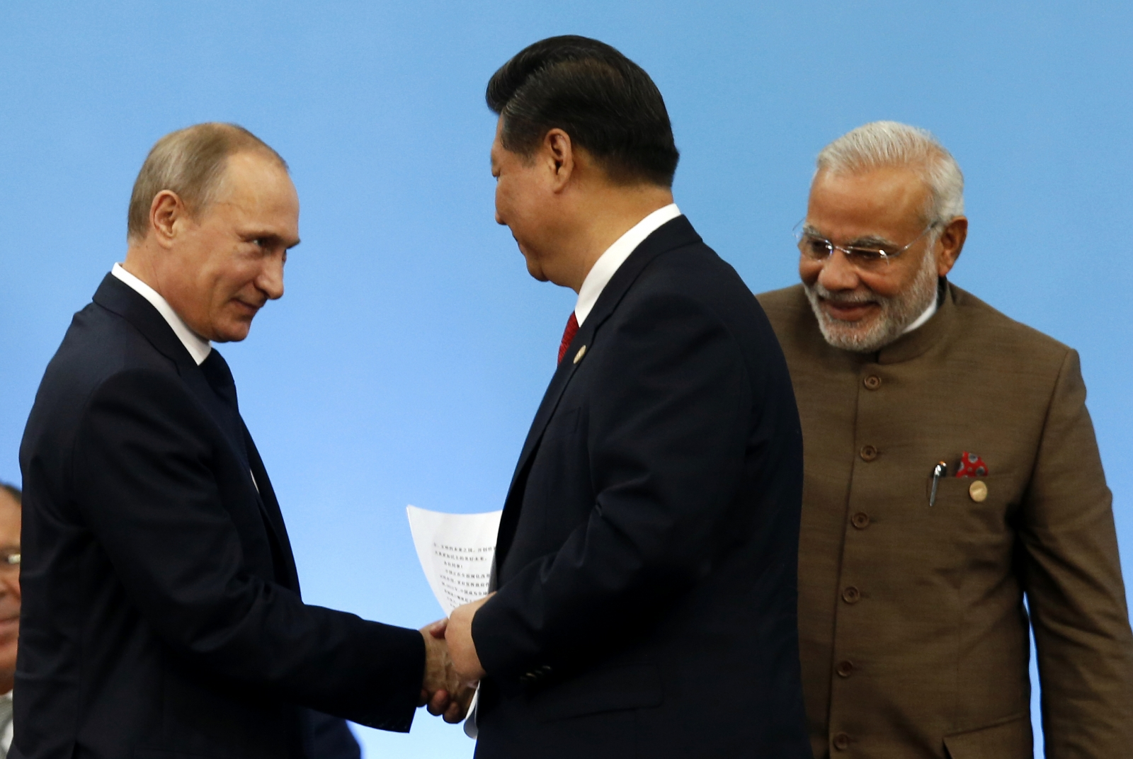india russia Defence minister nirmala sitharaman today said the s-400 triumf air defence missile deal with russia will go ahead notwithstanding.