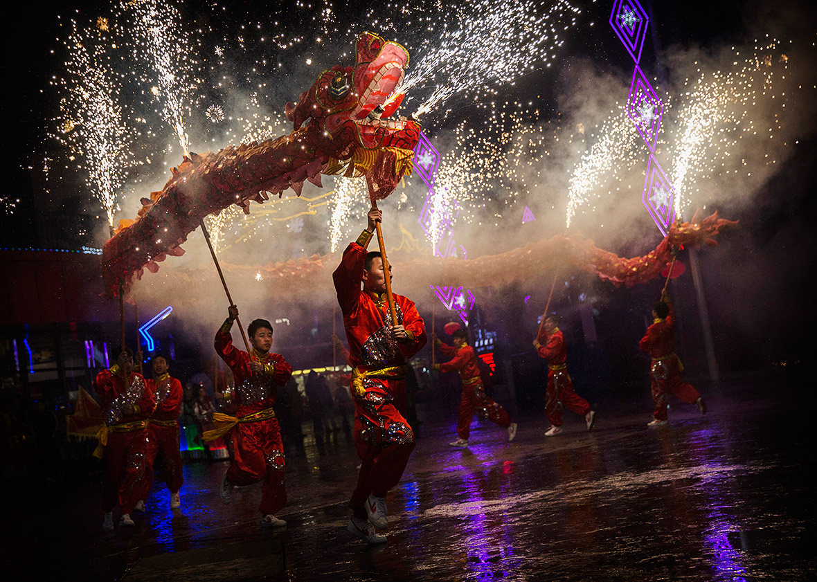 Traditional Celebration of Chinese New Year