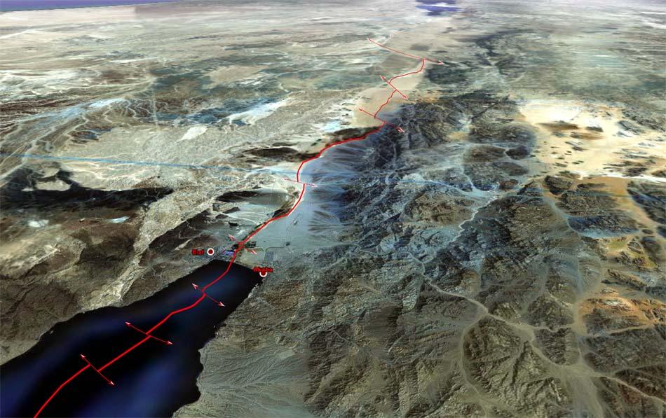 Jordan and Israel agree 900m Red SeaDead Sea pipeline