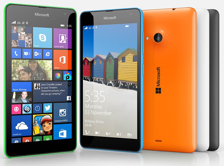 Microsoft Lumia 535 receives Windows Phone 8.1 Update 1 ...