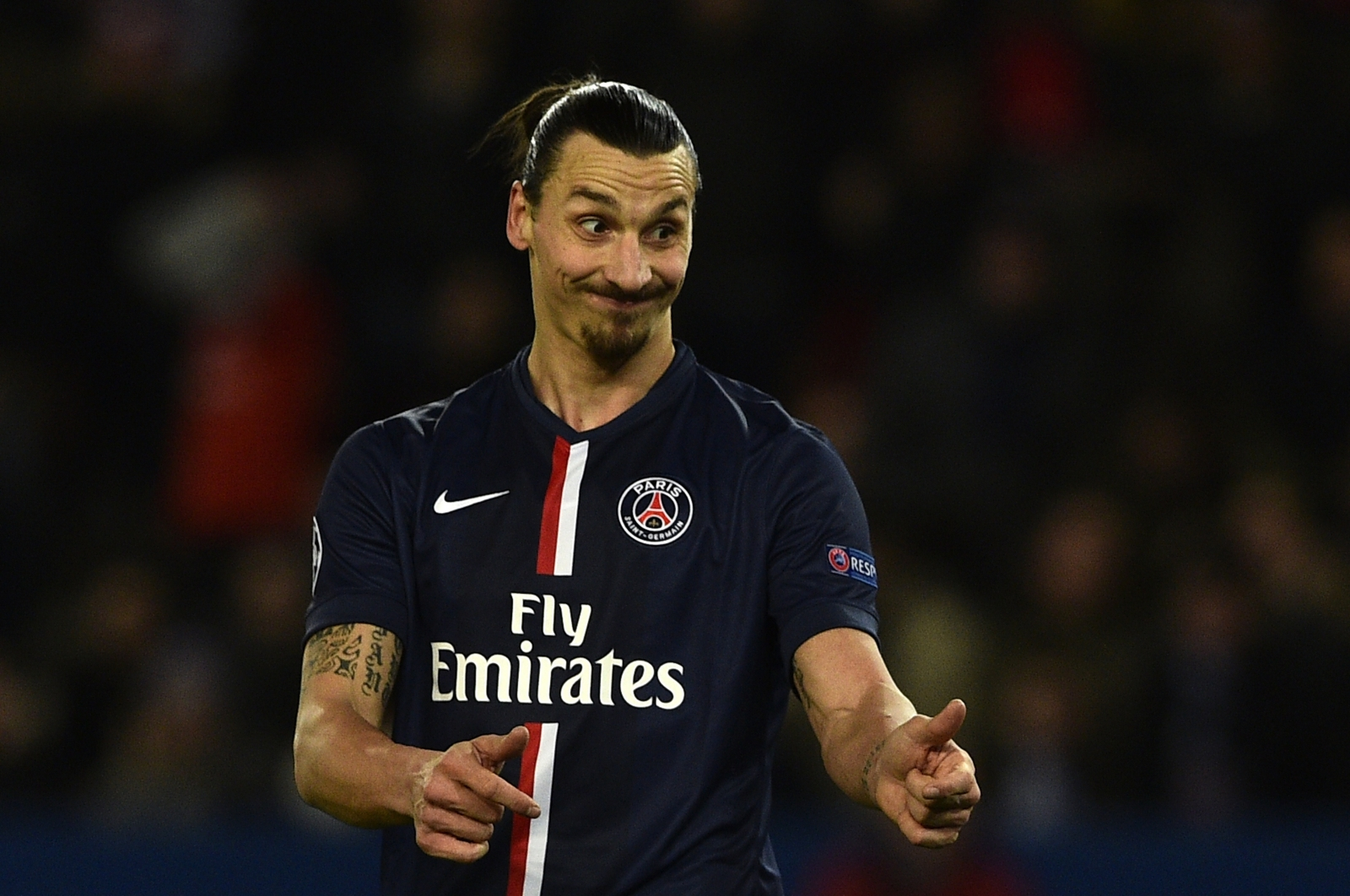 Zlatan Ibrahimovic is reportedly set to leave PSG this summer Getty