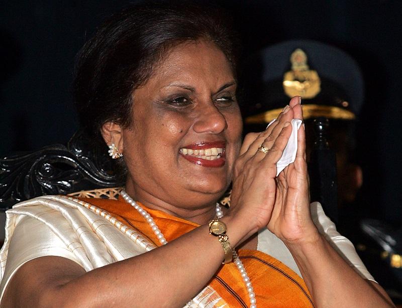 Chandrika Kumaratunga