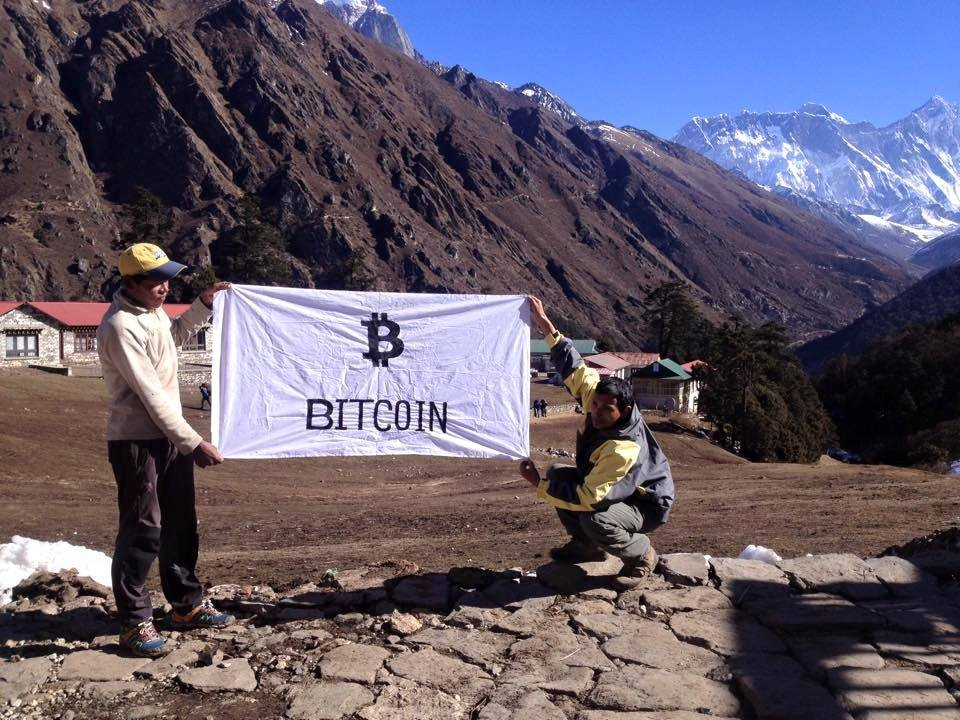 bitcoin mount everest
