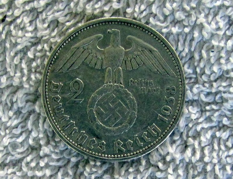Nazi coin discovered in Argentina jungle