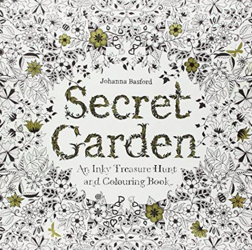 Colouring Book Secret Garden Outsells Harper Lee As Adults Seek