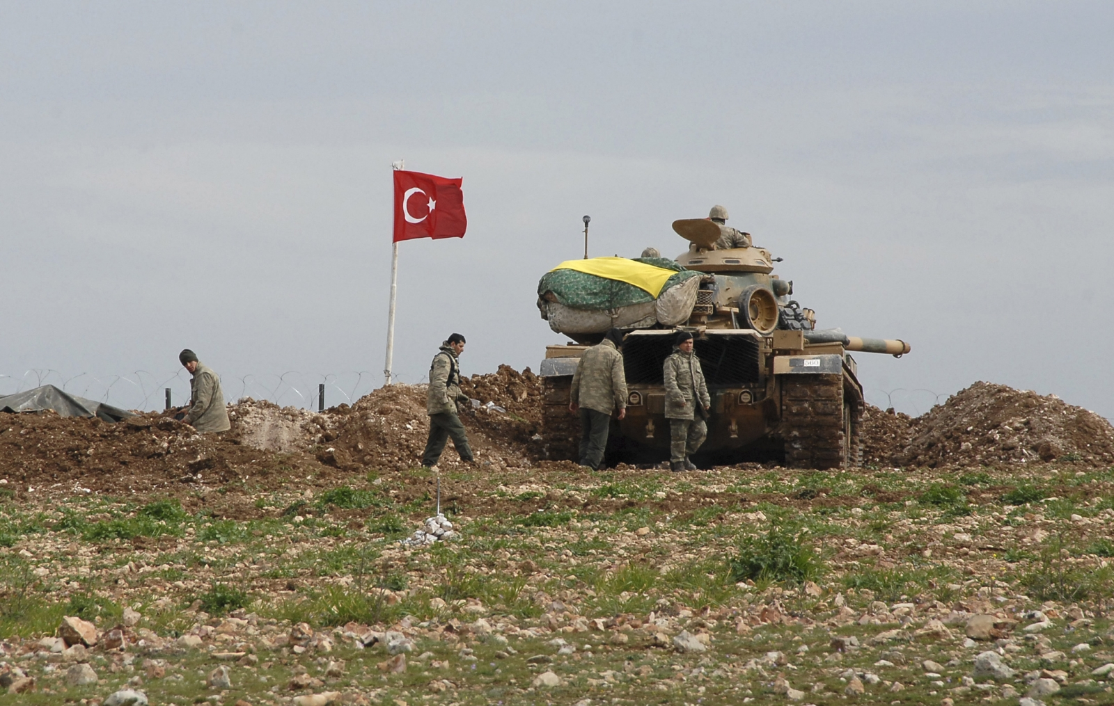 Syrian-Turkish border