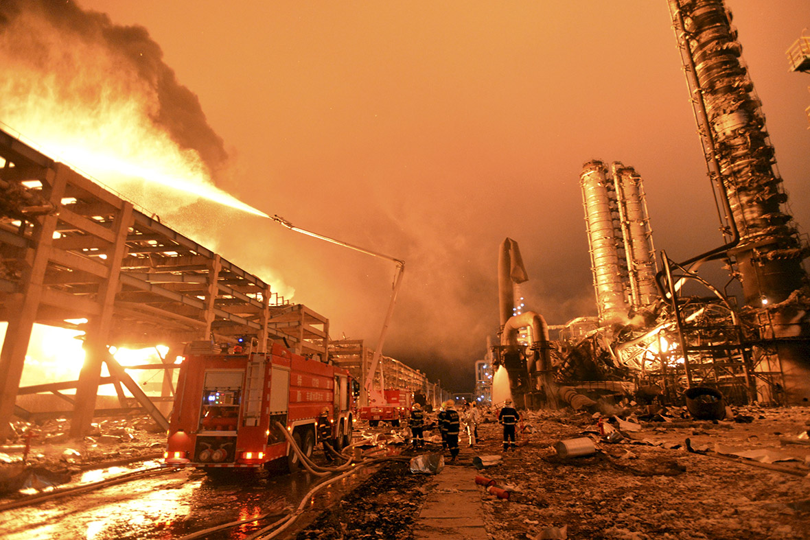 Zhangzhou China  city photo : China: Explosion and fire at toxic chemical plant in Zhangzhou [Photo ...