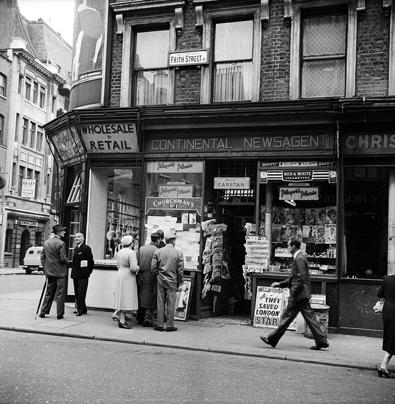 Save soho fascinating old photos of the vibrant heart of for Classic house old street london