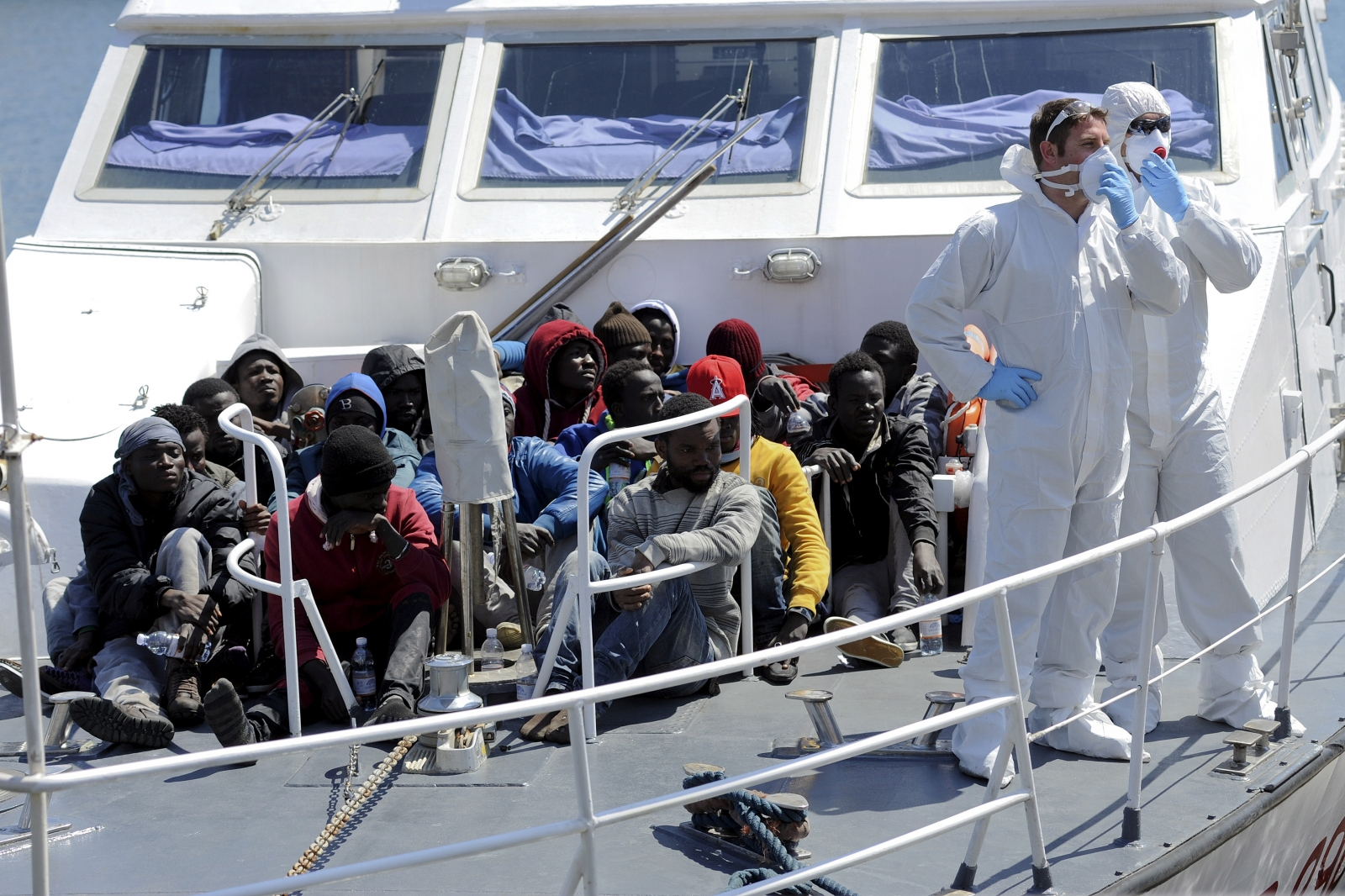 Libya Migrants Muslim Refugees Arrested In Italy For