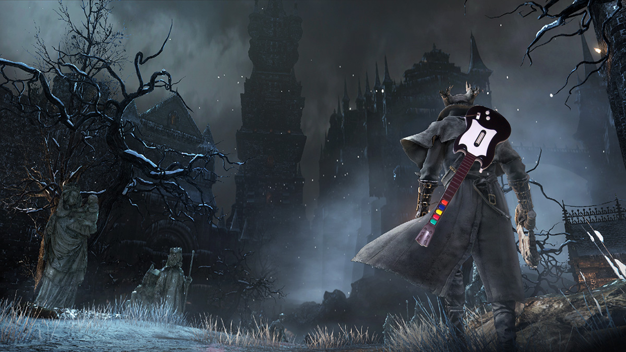 Bloodborne Ps4 Game Bloodborne Player Beats Ps4