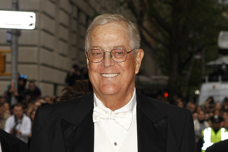 Us election 2016 koch brothers identify five republican for David charles koch