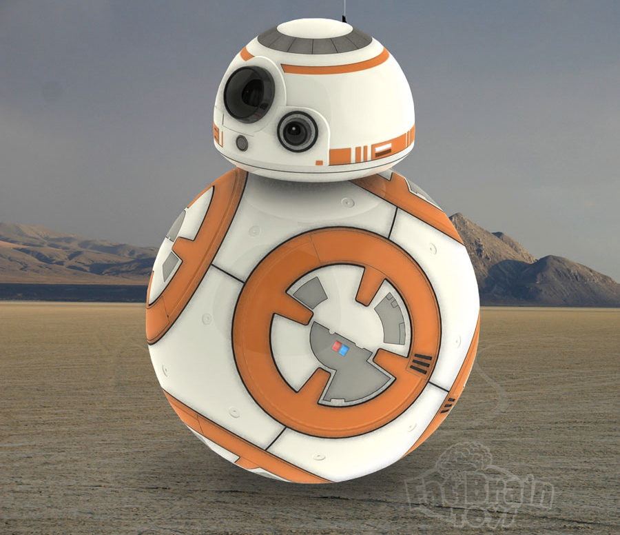Star Wars White Robot Star Wars Bb8 Robot Was Built