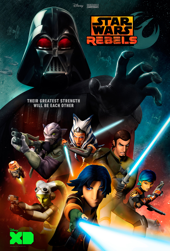 Star Wars Rebels season 2: Darth Vader fights Ezra and Kanan, Will Han ...