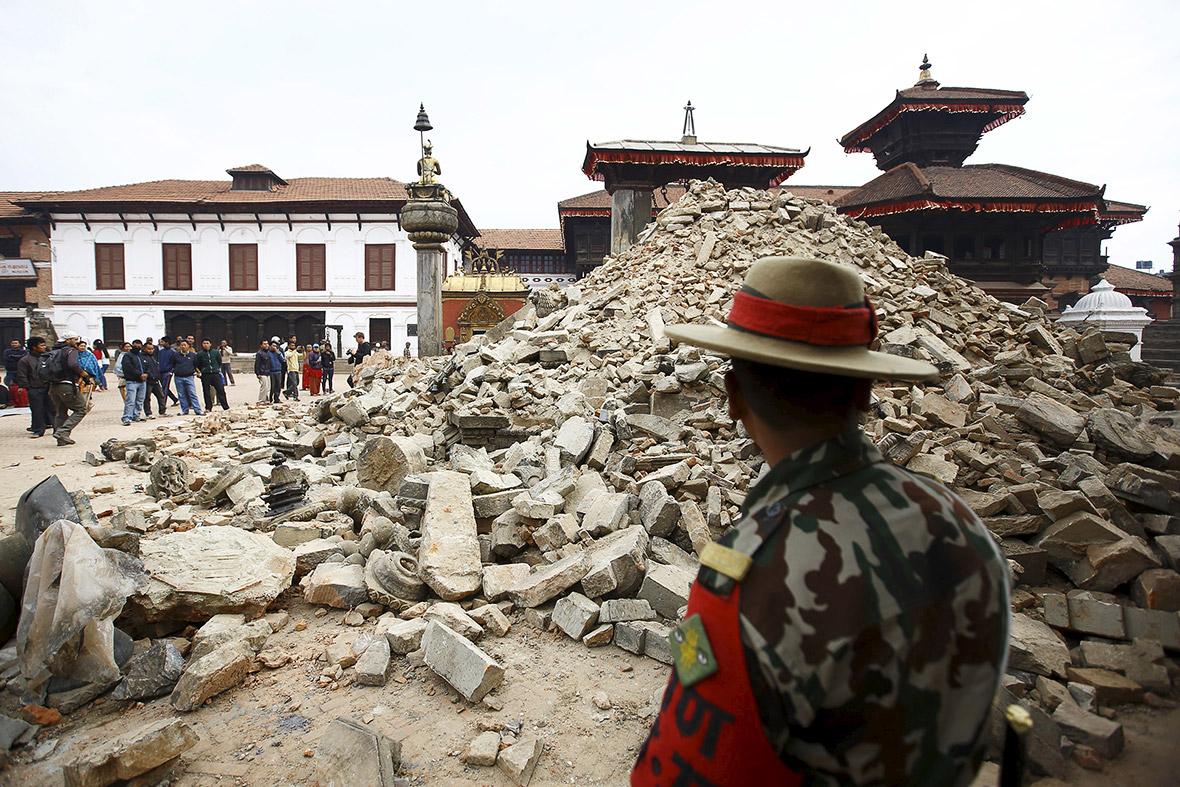 Nepal earthquake: 'Living goddess' temple in Kathmandu ...