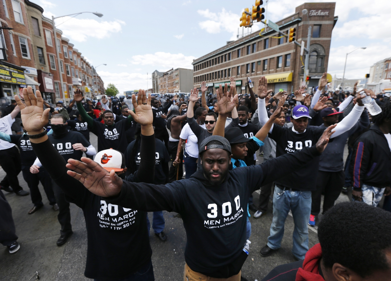 baltimore riots 2015  boston rally for protesters planned