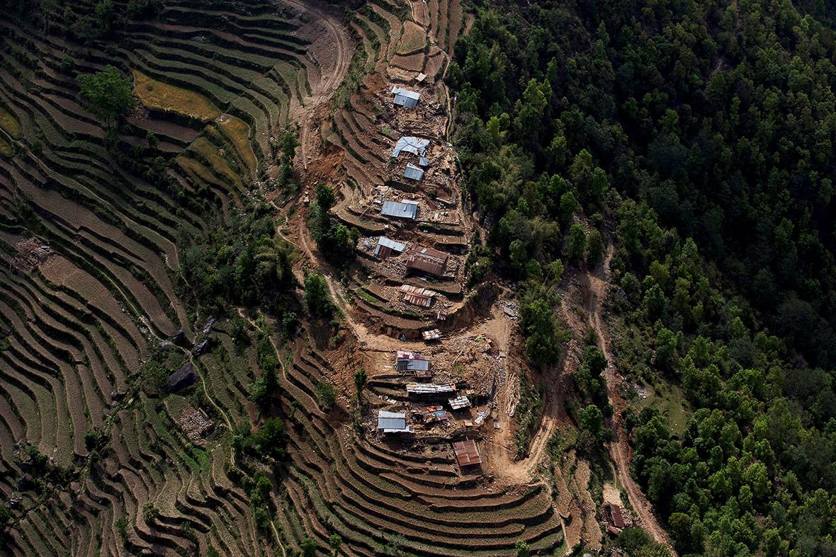 Real Nepal Earthquake Nepal Earthquake Aerial