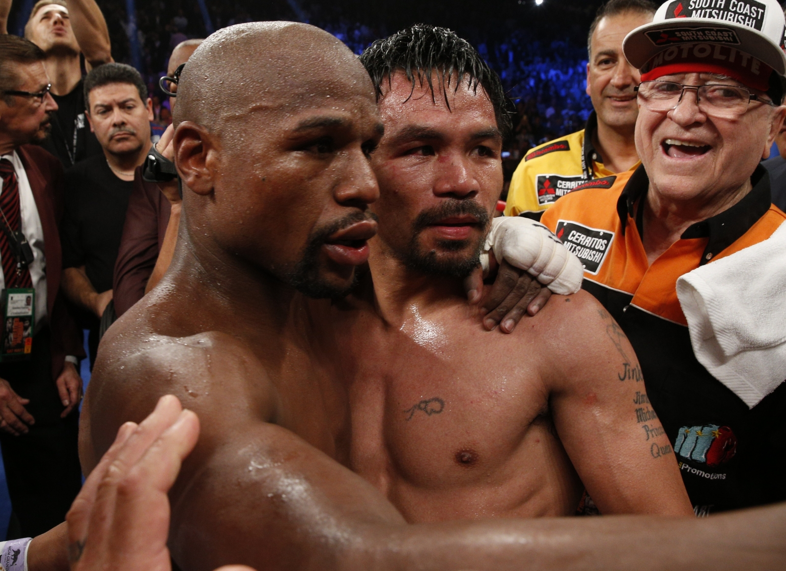 Mayweather and Pacquiao top Forbes list after megabout