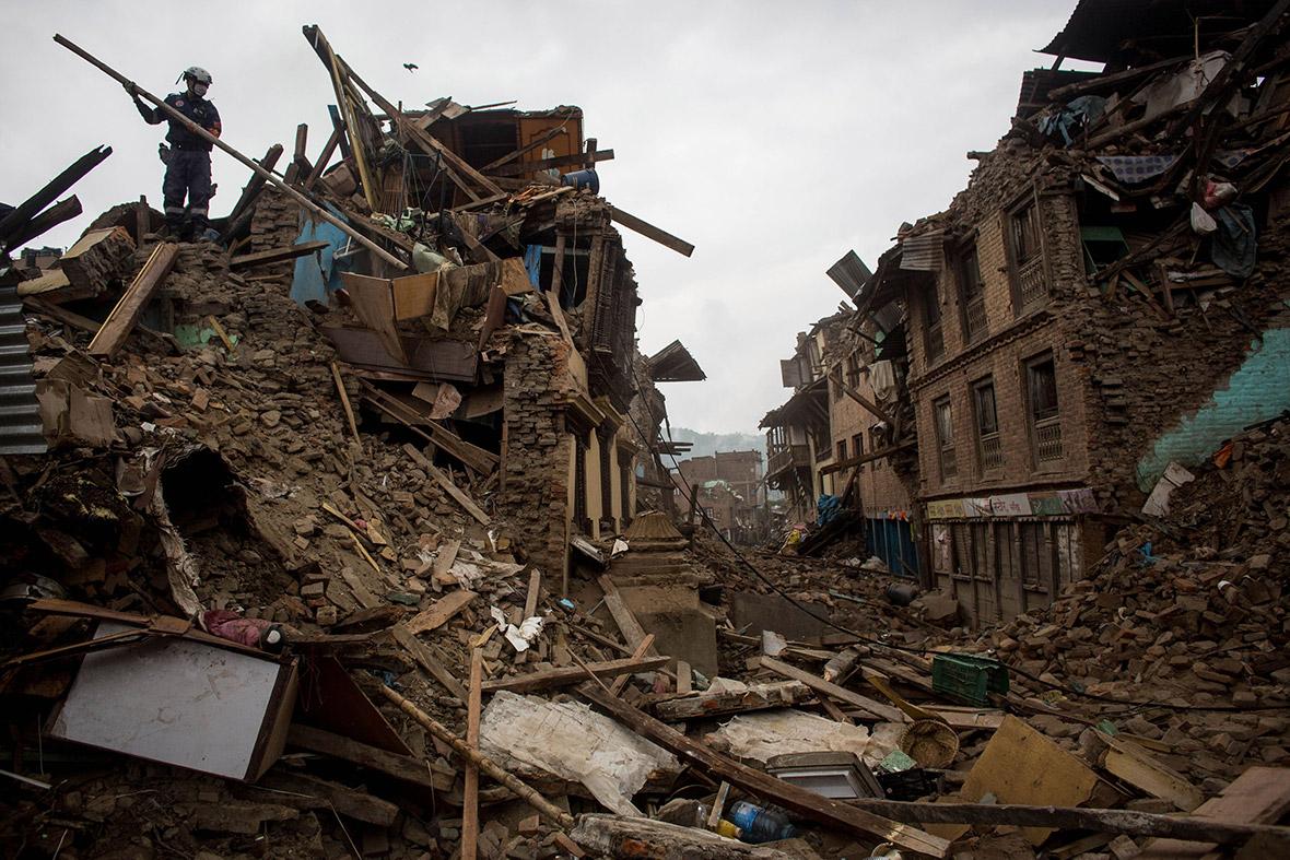 Real Nepal Earthquake Nepal Earthquake a Member of a