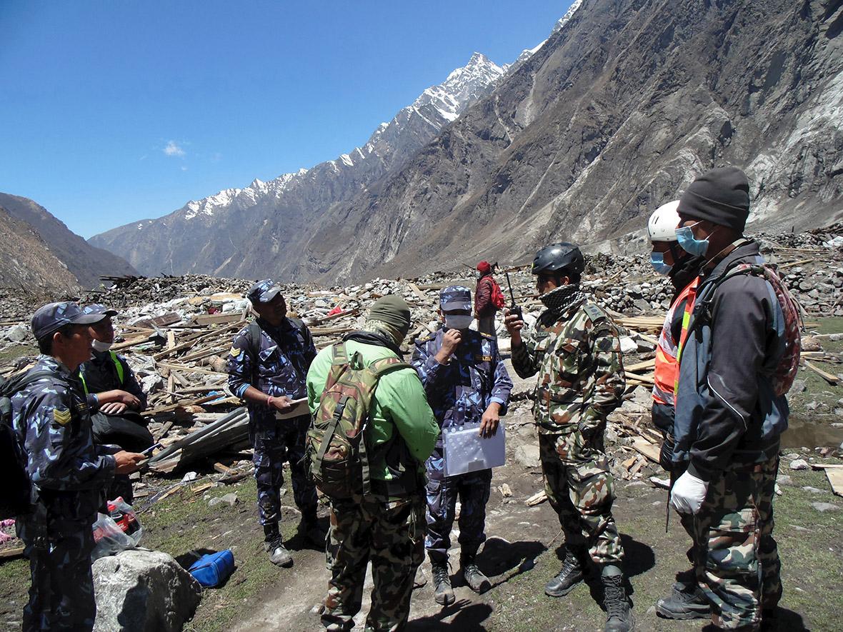 Real Nepal Earthquake Nepal Earthquake Hundreds of