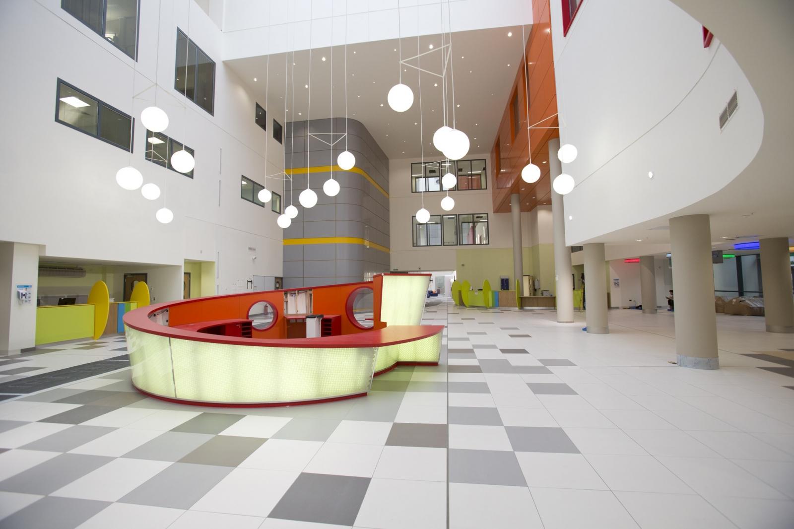 Visitors To Hi Tech GBP1bn Glasgow Hospital Keep Getting