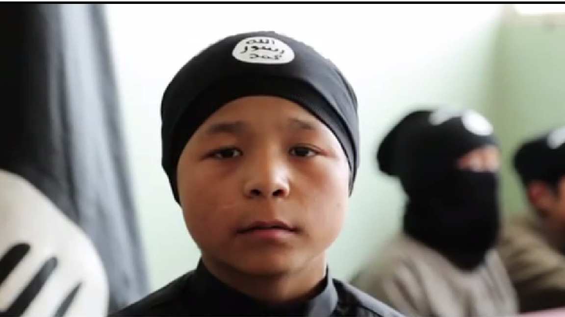 ISIS kid