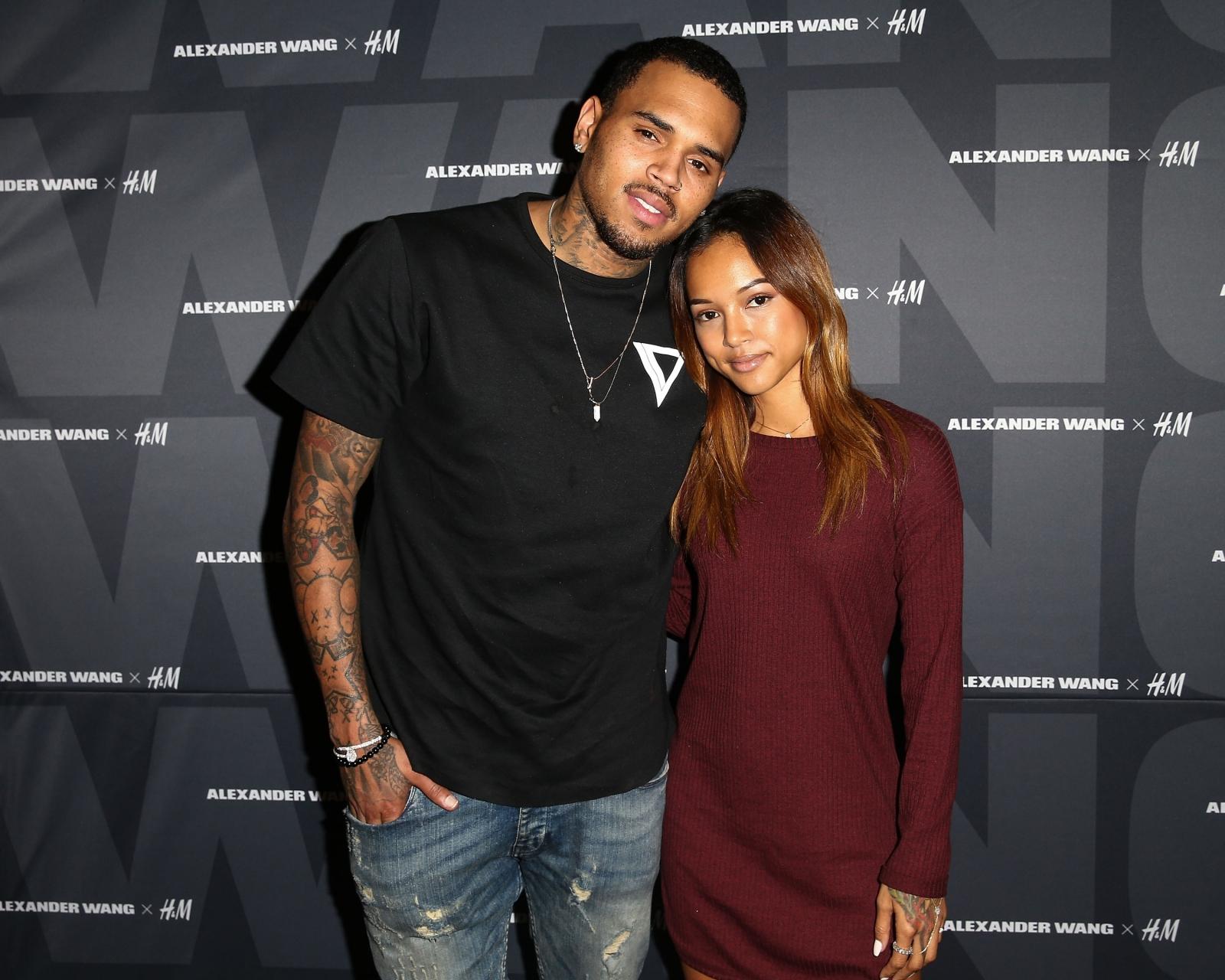 Karrueche Tran bashes 'disloyal' Chris Brown over ...