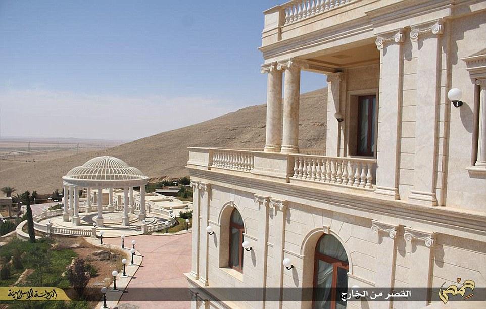 islamic state  qatari royal family u0026 39 s syrian mansion