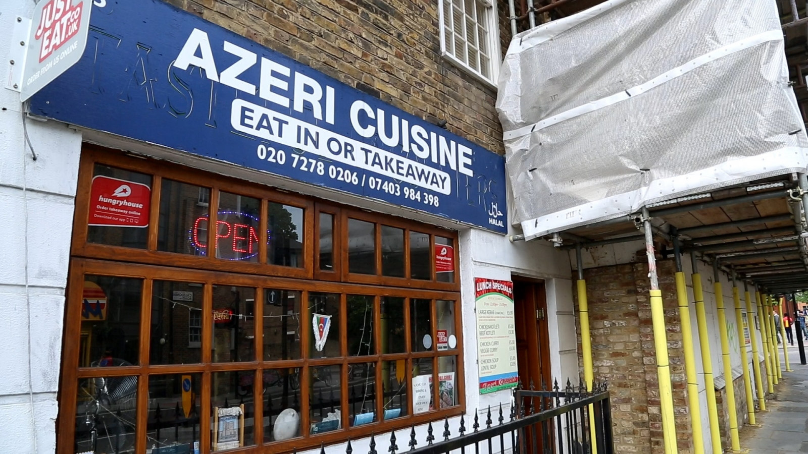 Baku 2015 we watched the opening ceremony at one of for Azeri cuisine caledonian road