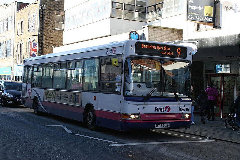 first bus times essex 551