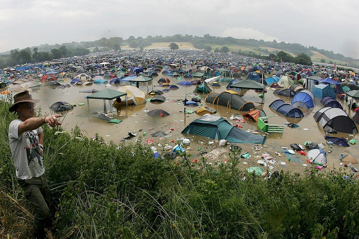 Glastonbury Weather Will It Be Rain And Mud Or Sunshine