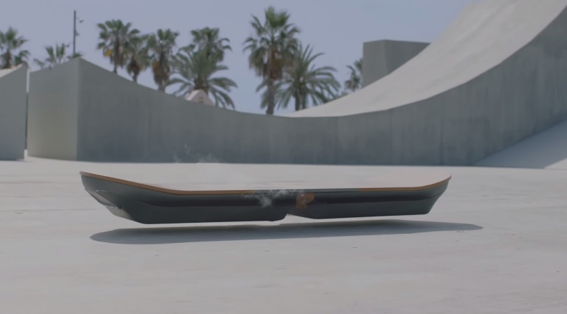 Lexus Unveils New Hoverboard That Glides On Water And