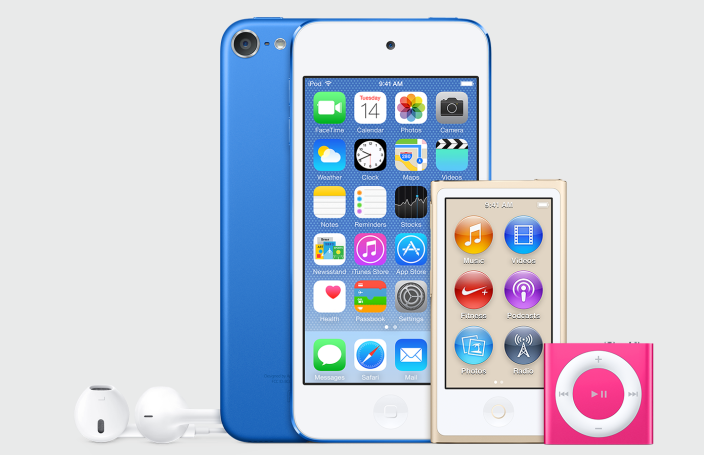 iPod touch updated with iPhone 6 specs alongside gold Nano ...