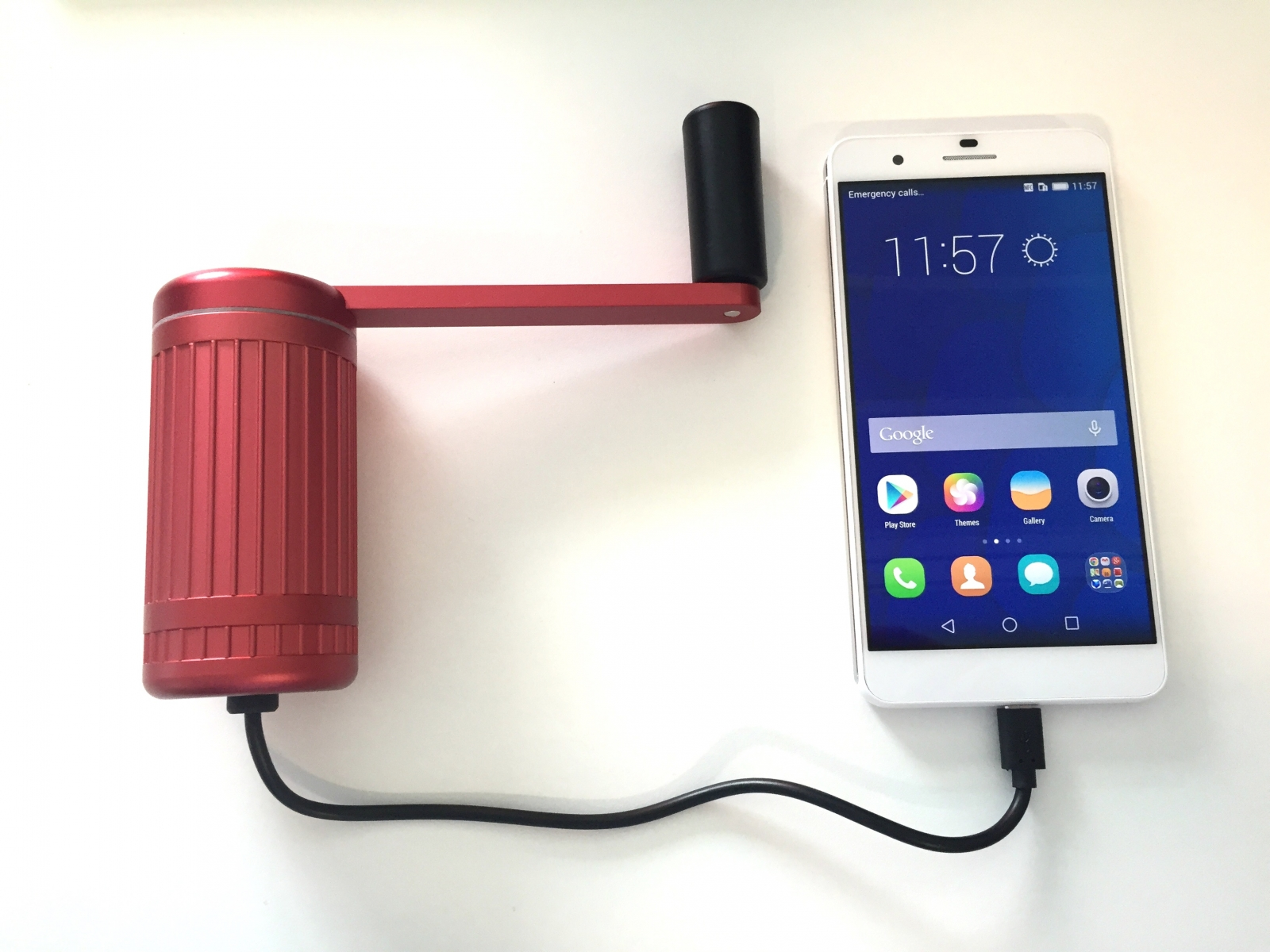 Crank Monkey The Wind Up Phone Charger To Climb A