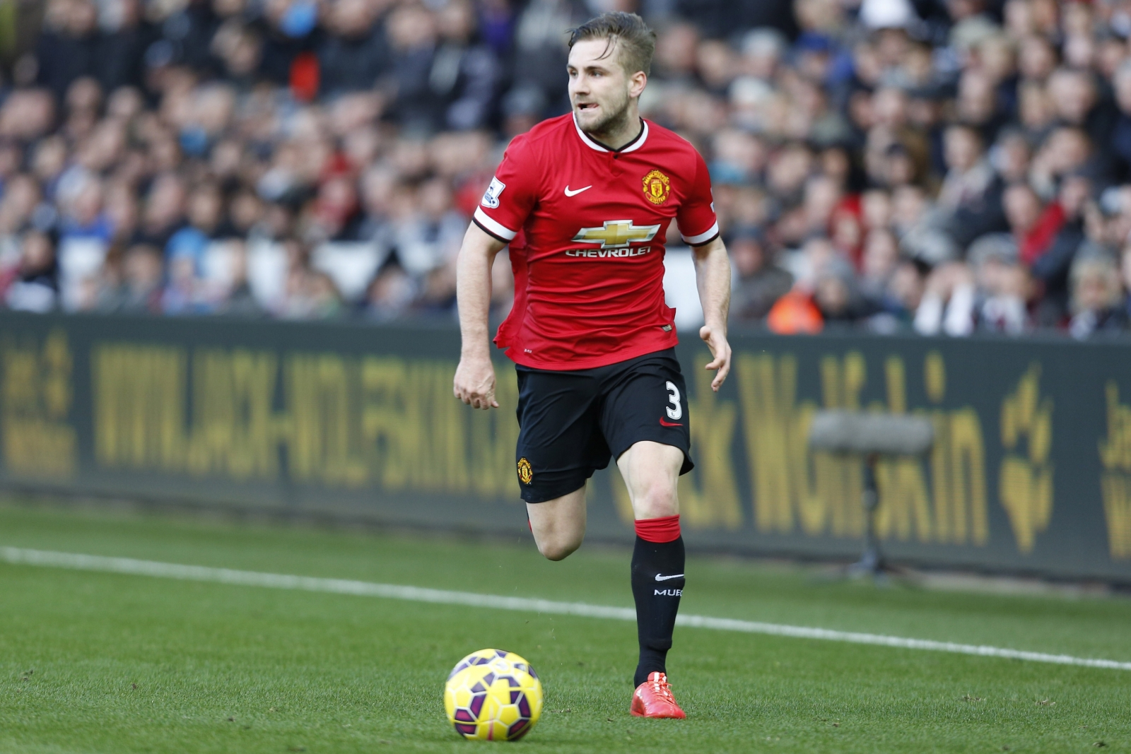 Luke Shaw accepts blame for poor fitness at Manchester United