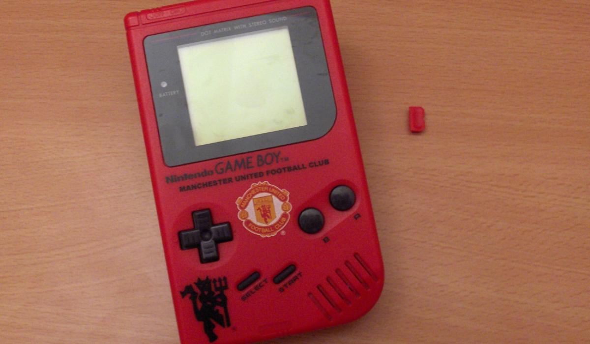 Manchester United Gameboy Manchester United Game Boy