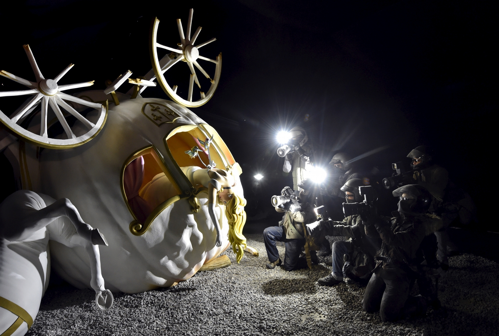 Dismaland Questions arise whether website for Banksy s