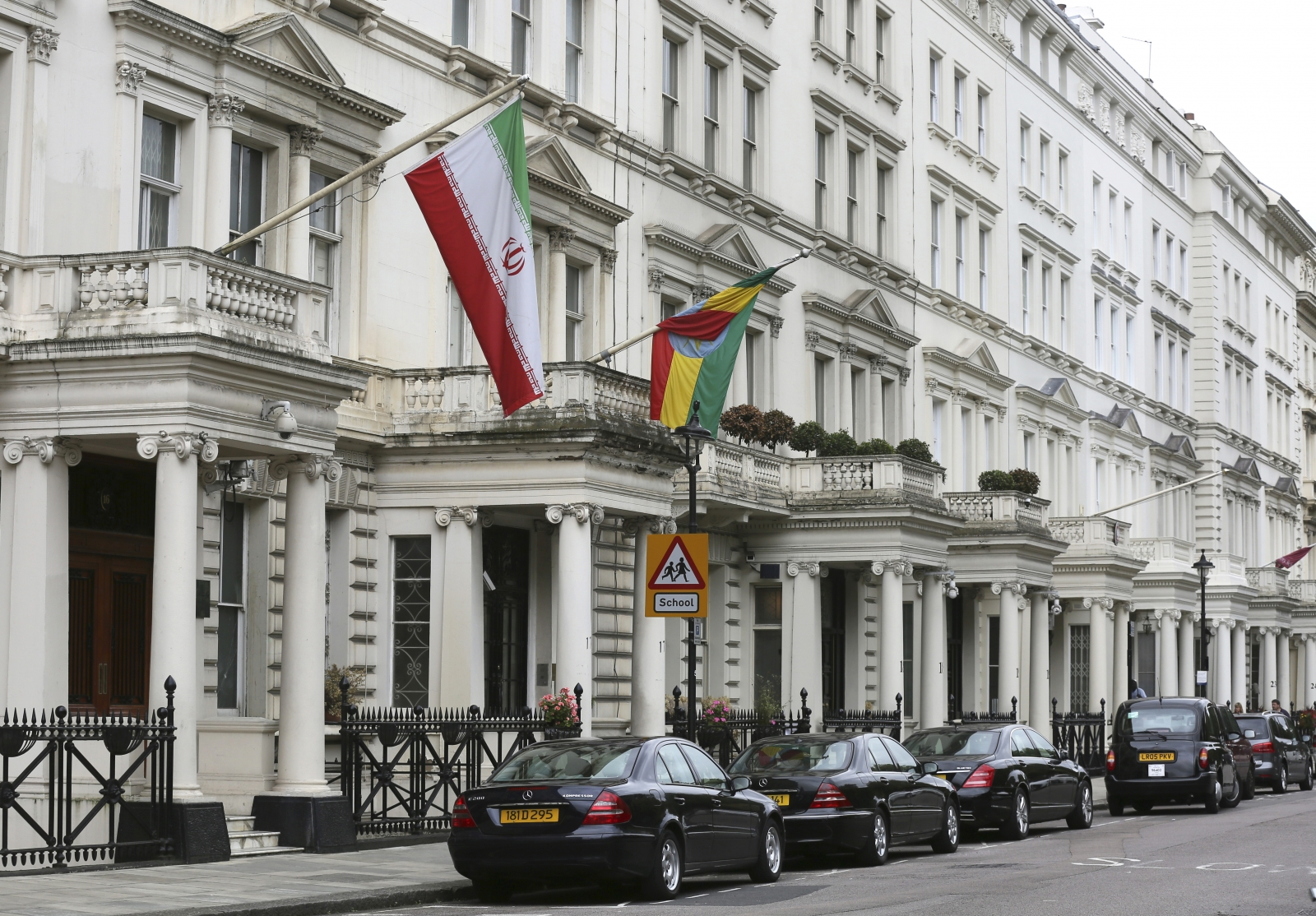 Iranian embassy to re open in london 35 years after for The consulate