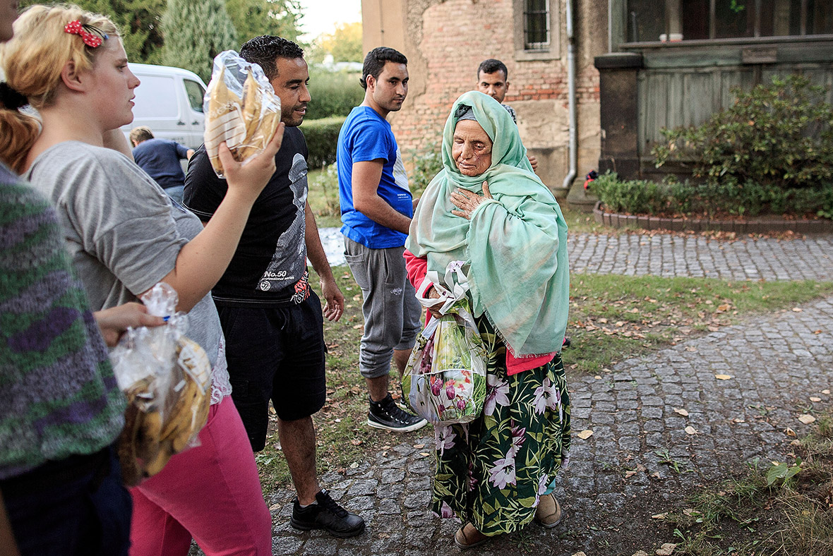 refugees germany volunteers donations