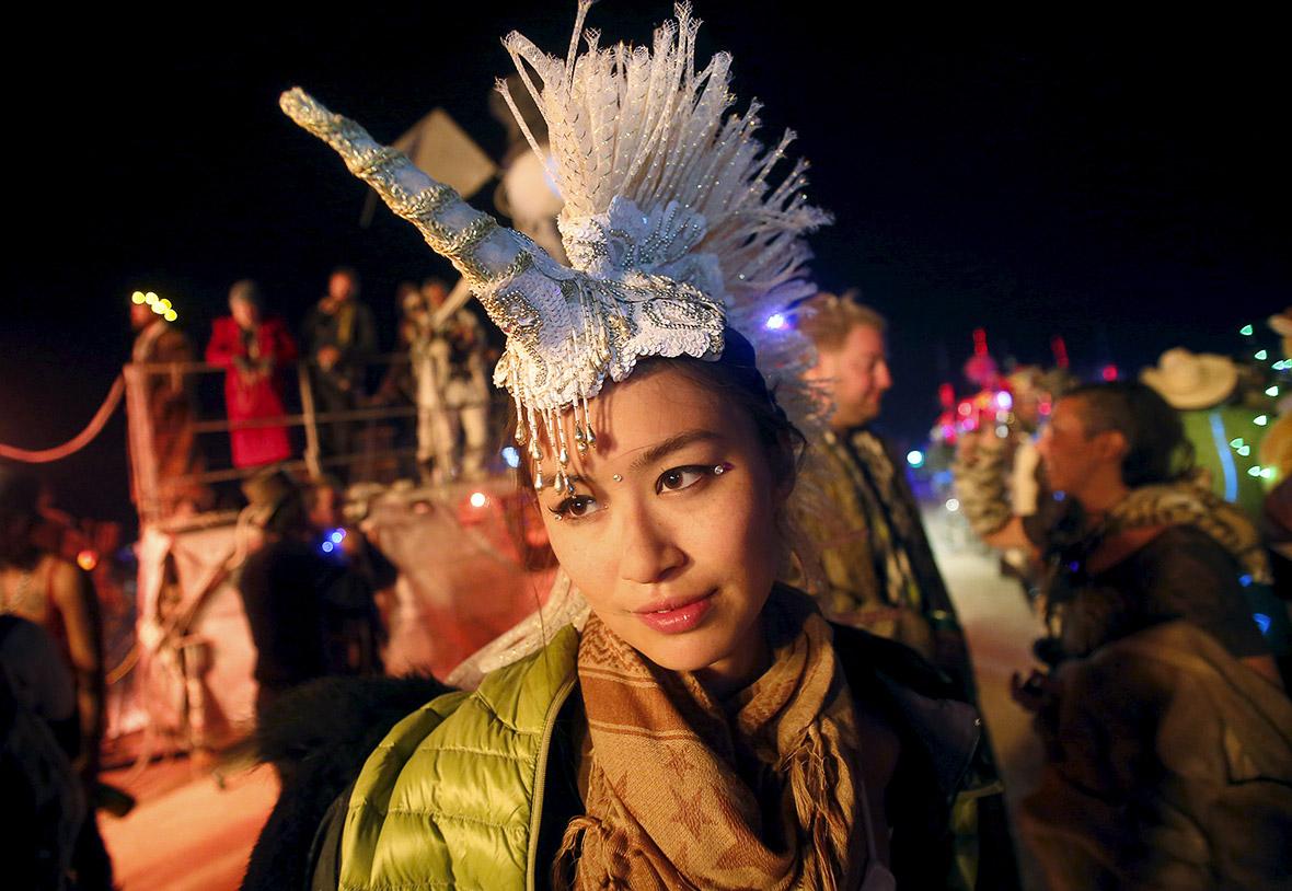 Burning Man: Worlds wildest festival in Nevada desert