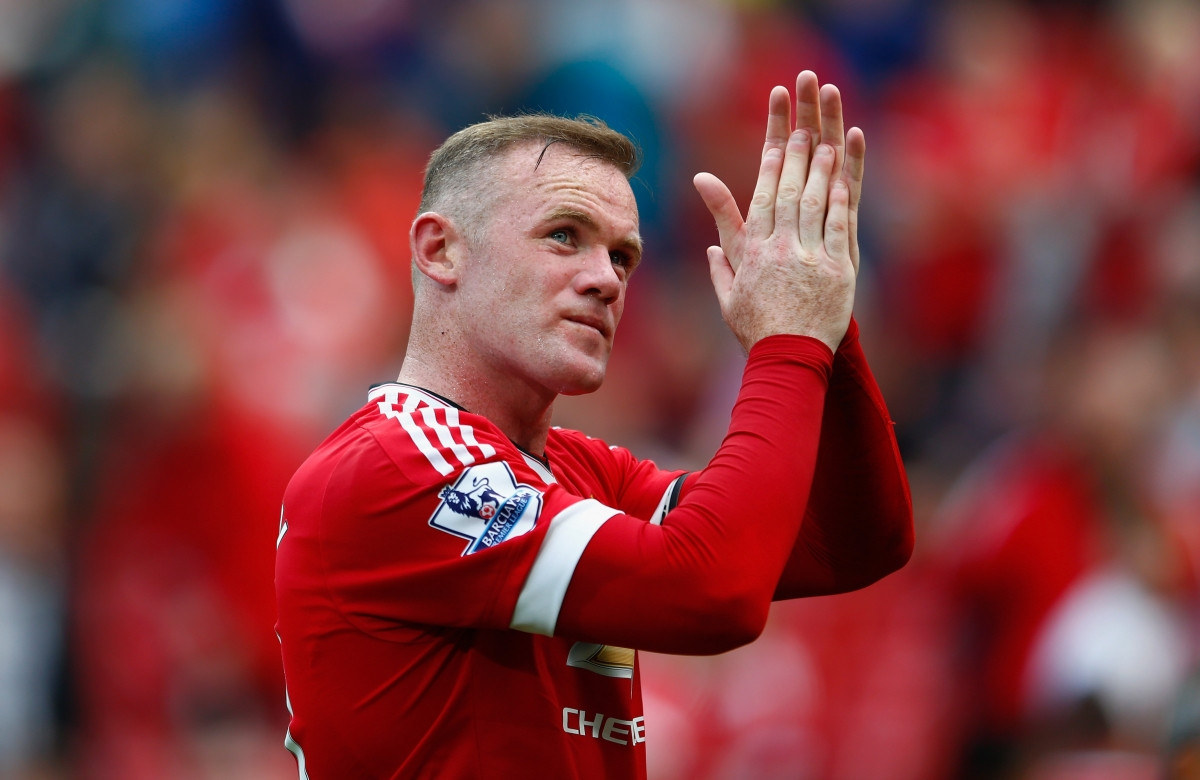 Wayne Rooney 16 Wayne Rooney will be hoping to score his first league goal against
