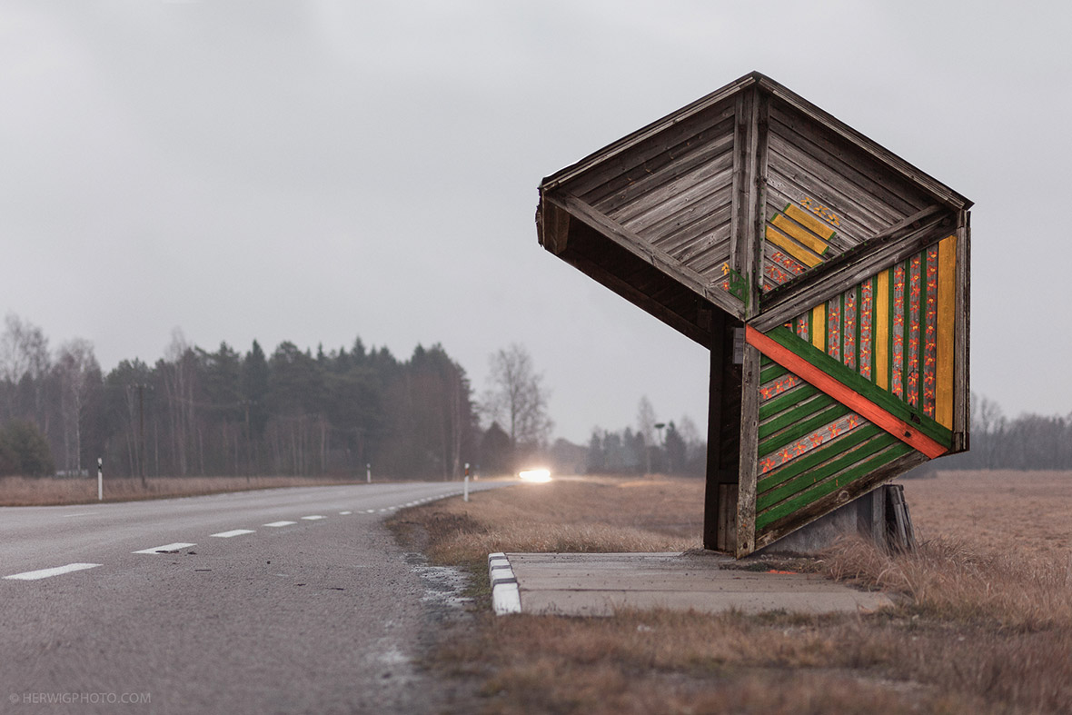 Soviet Bus Stops: Chri...
