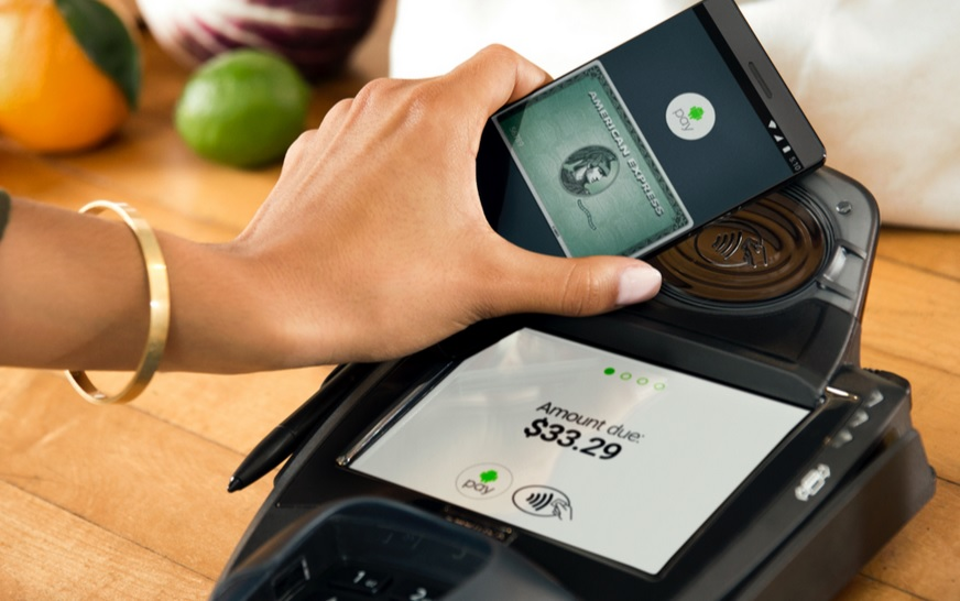 Android Pay with American Express