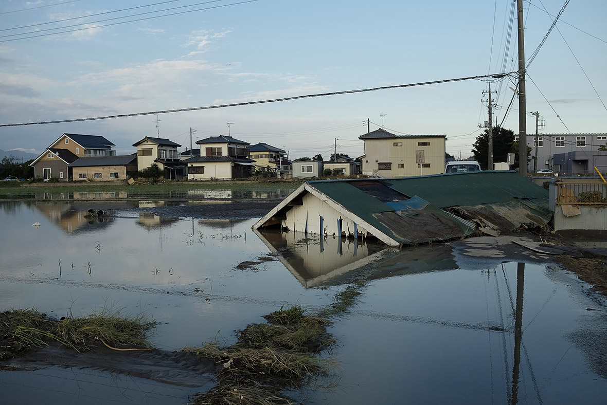 Japan floods Joso