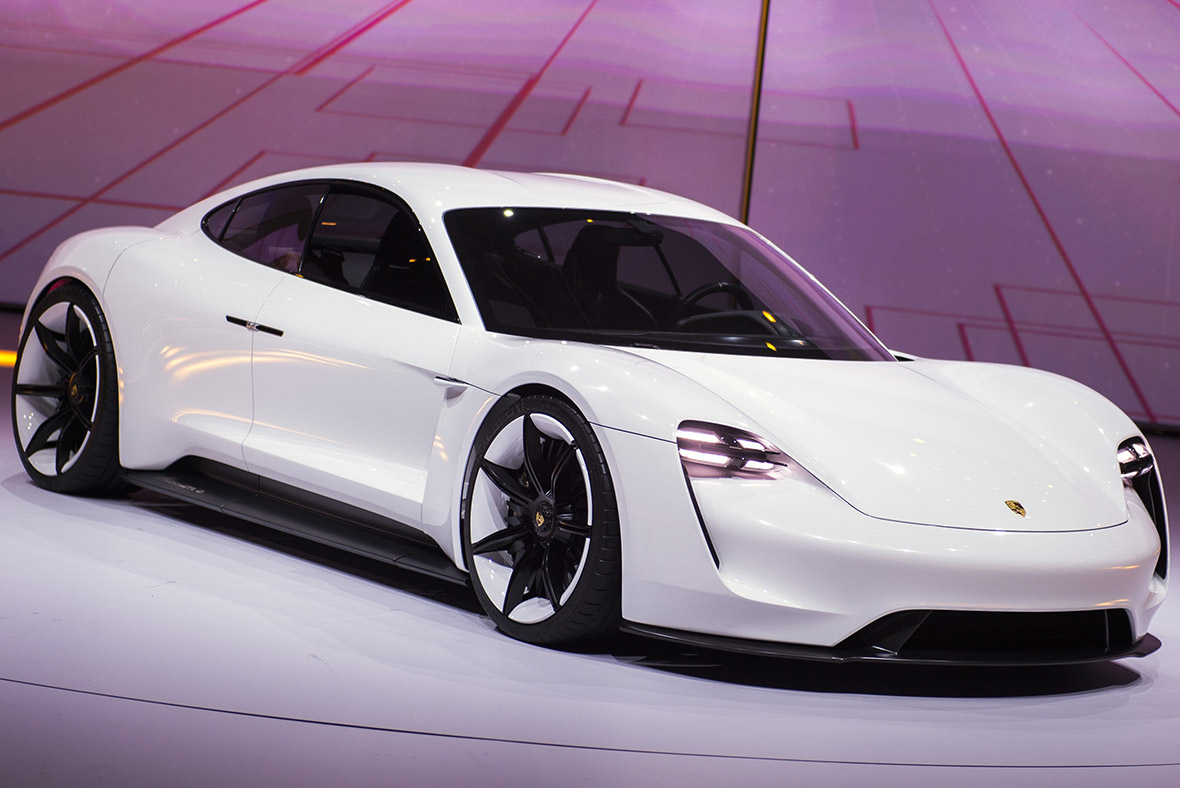 Porsche mission e all electric sports car to go on sale for Electric motors for cars for sale