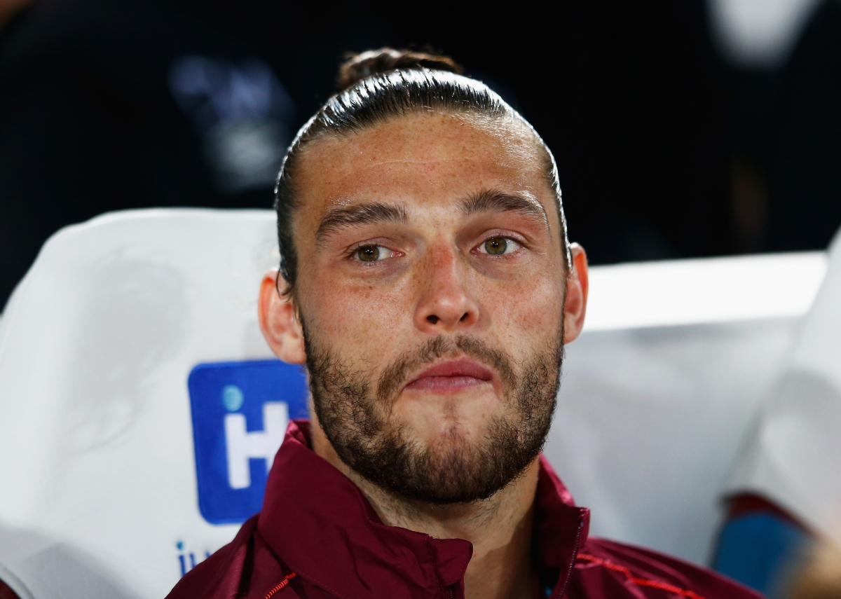West Ham striker Andy Carroll couldn t be working harder in